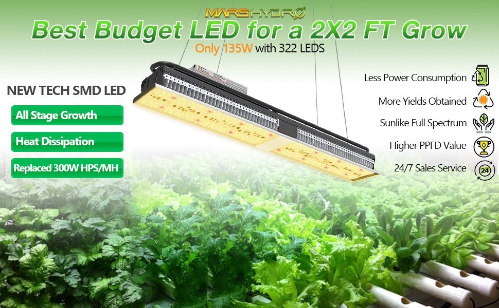 Mars Hydro TS QB plant grow light